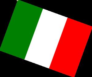300x252 Italian Flag Clip Art