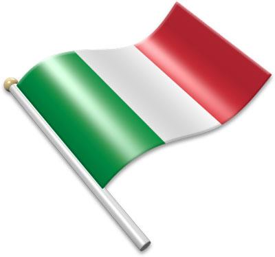 400x374 Italian Flag Clipart