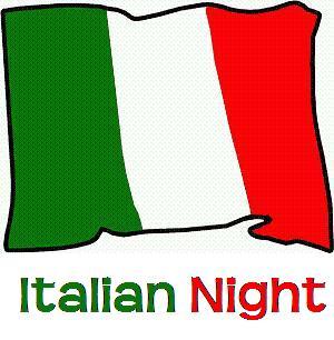 300x306 Italian Night Clipart Clipartfest 2