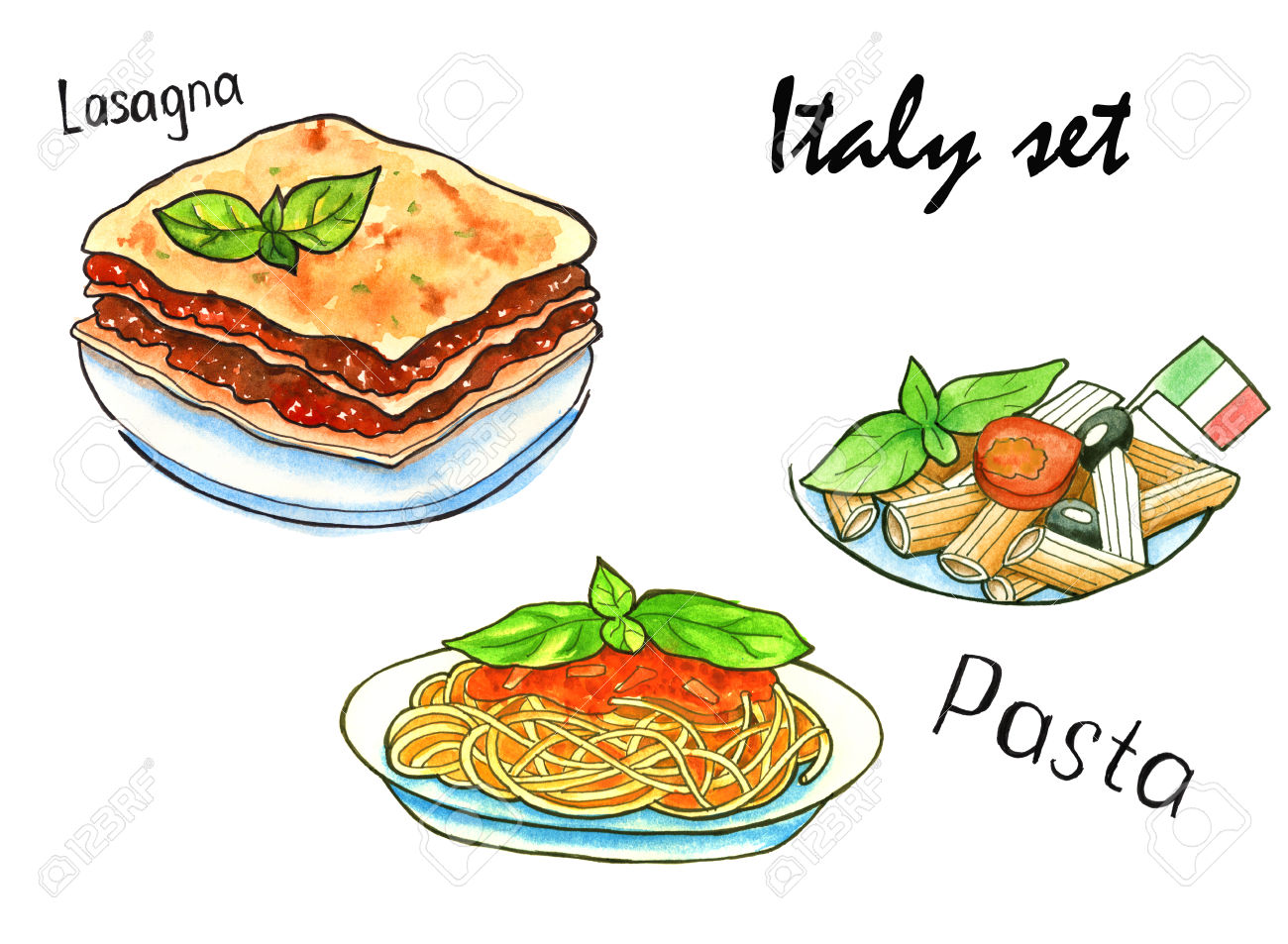 Italian Restaurant Near Me: Collection Of Lasagna Clipart