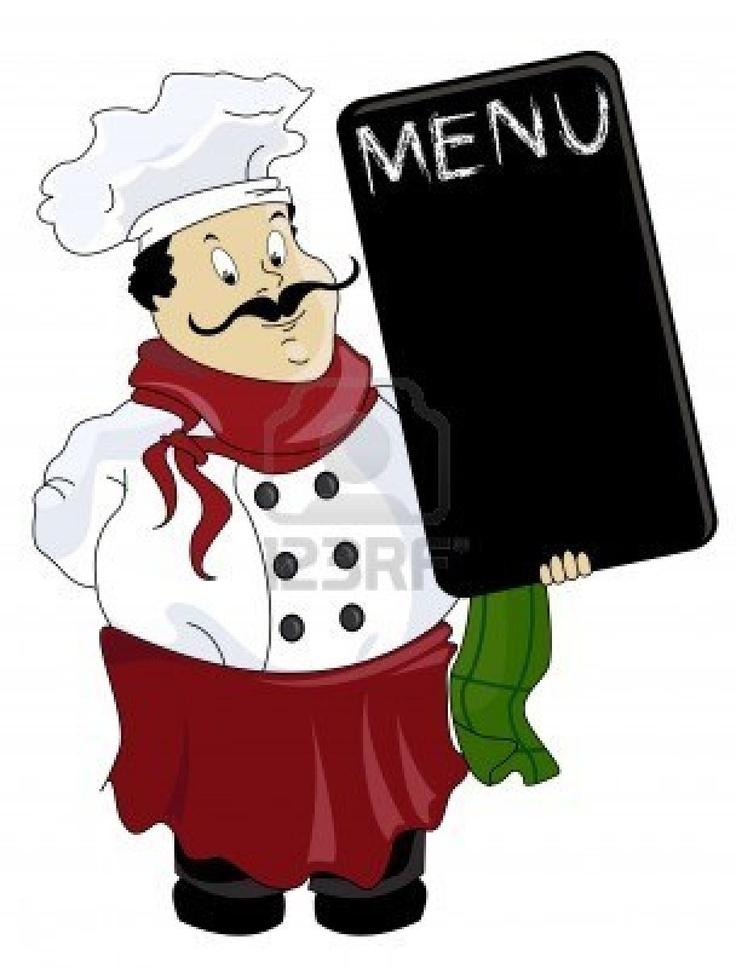 736x968 Italian Chef Clipart