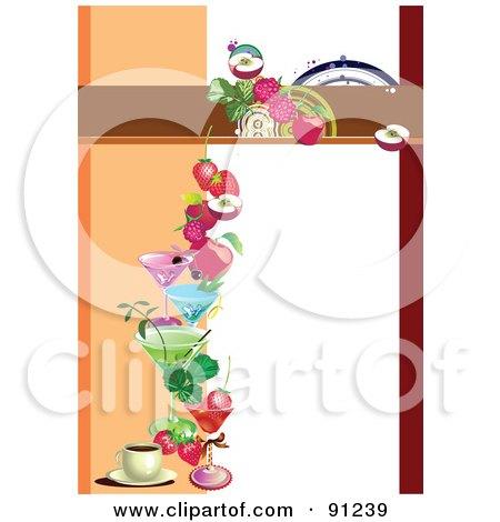 450x470 Italian Restaurant Menu Clip Art Cliparts