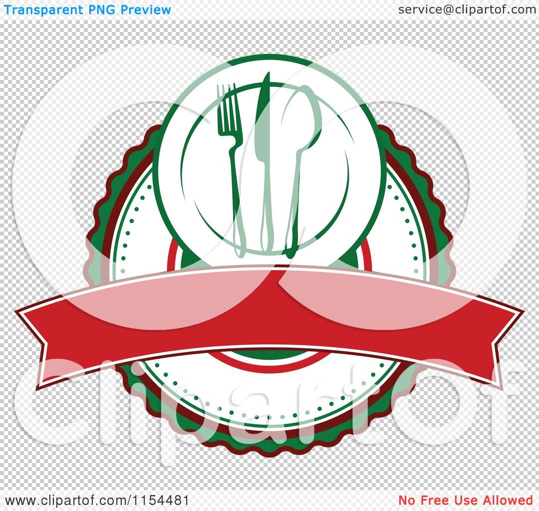 1080x1024 Clipart Of An Italian Restaurant Logo 2