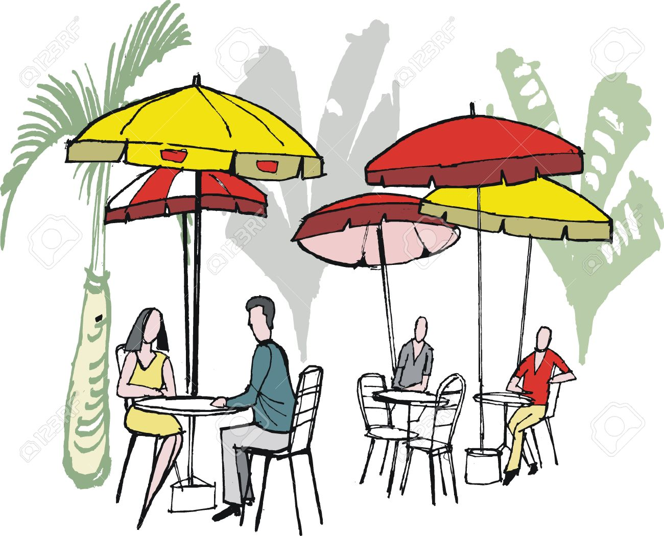 1300x1050 Restaurant Clipart Outdoor Cafe
