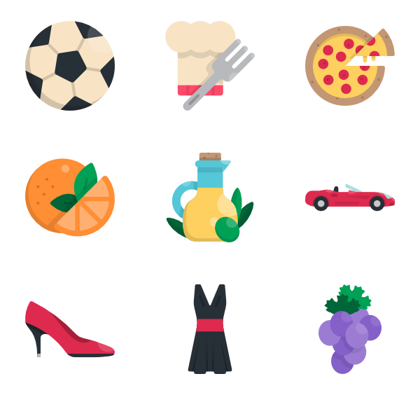 600x564 3 Italy Country Icon Packs