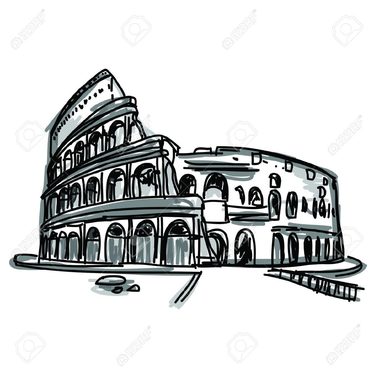 1300x1300 Rome city clipart, explore pictures