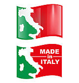 161x170 Clip Art Italy Stamp