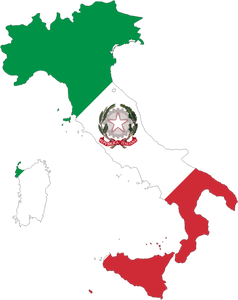 Italy Map Clipart