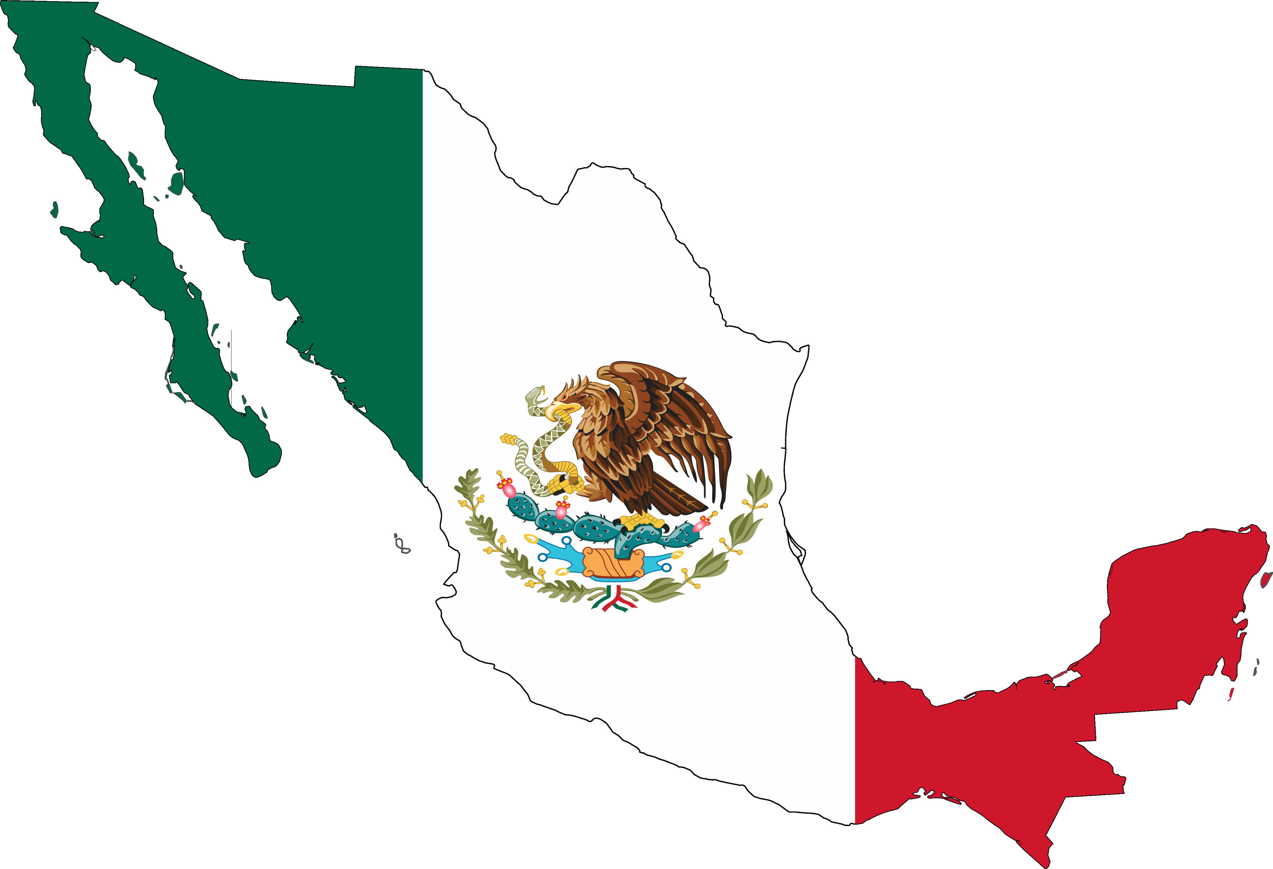 4444x3036 Top 75 Mexican Flag Clip Art