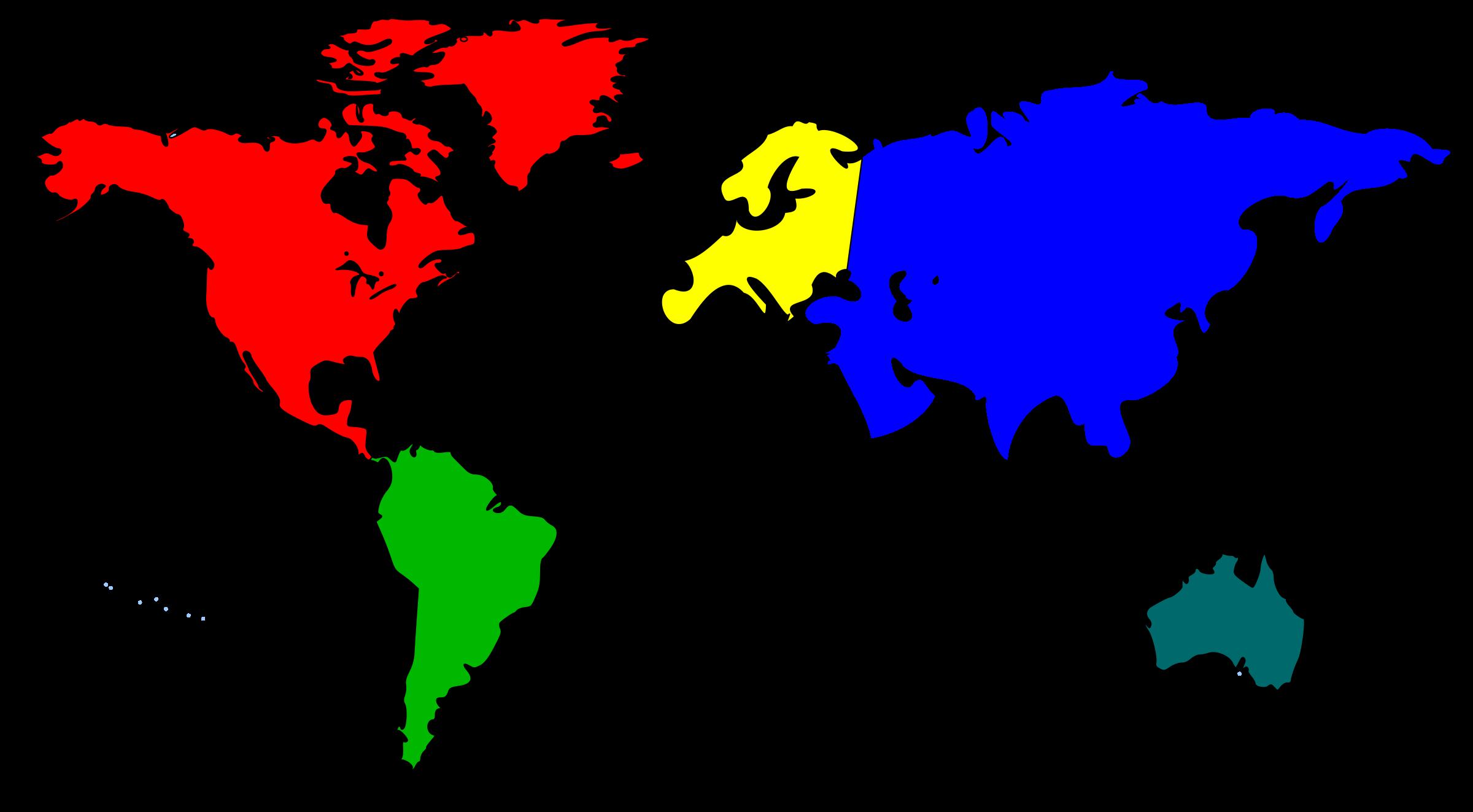 2400x1323 World Map Clip Art