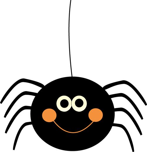 Itsy Bitsy Spider Clipart