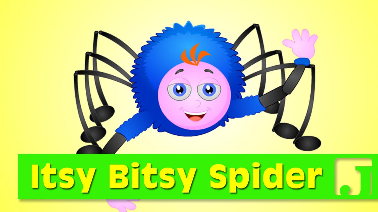 1280x720 Itsy Bitsy Spider Nursery Rhymes Children Songs Jaccoled
