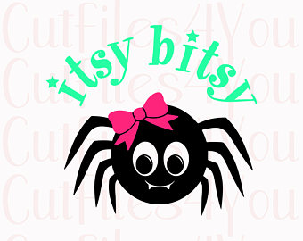 340x270 Spider Girl Svg Too Cute To Spook Svg Girl Spider Svg