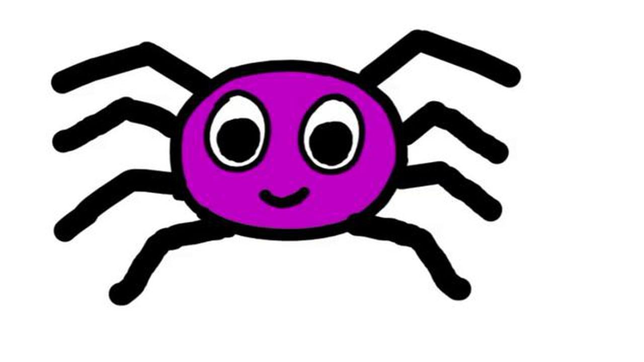 1280x720 Arachnid Clipart Itsy Bitsy Spider