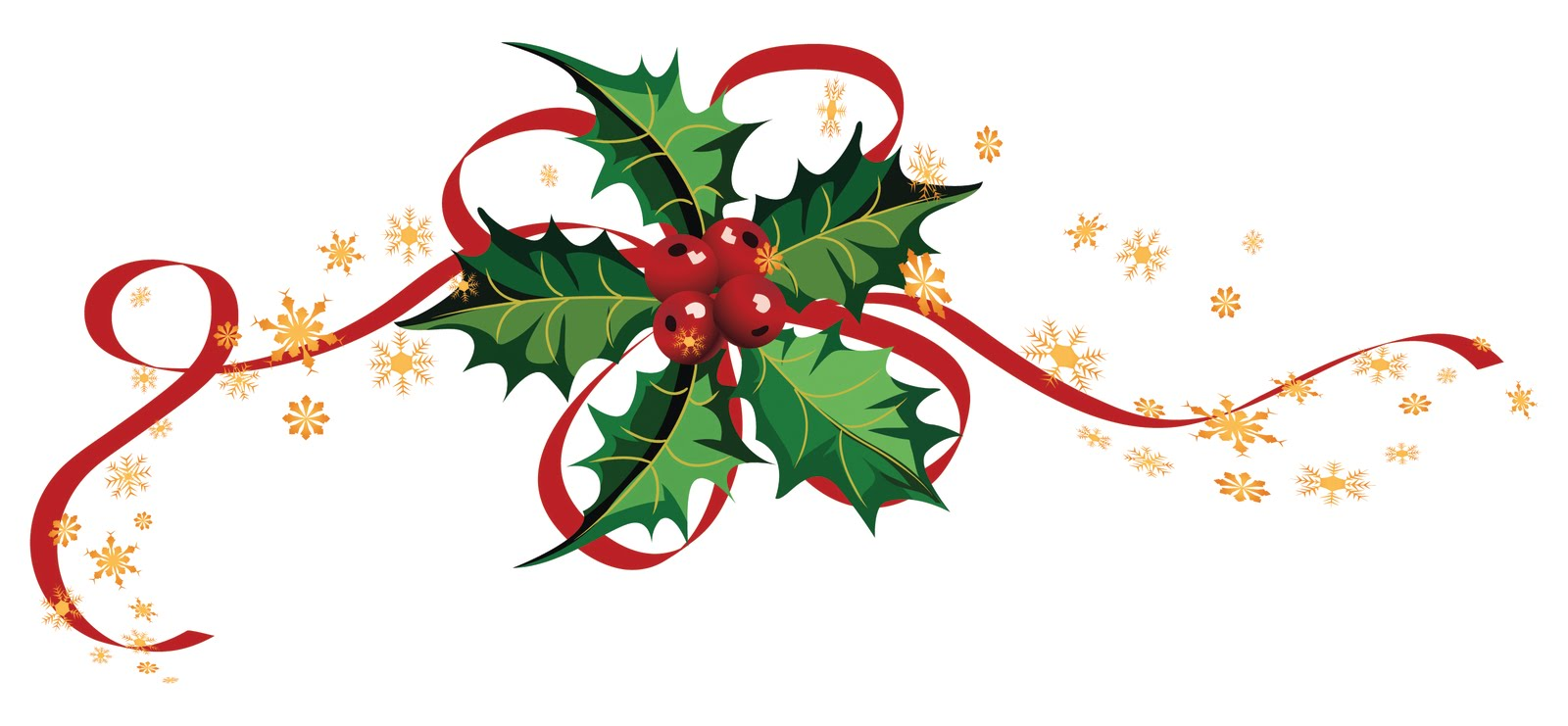 1600x741 Christmas Ivy Clipart