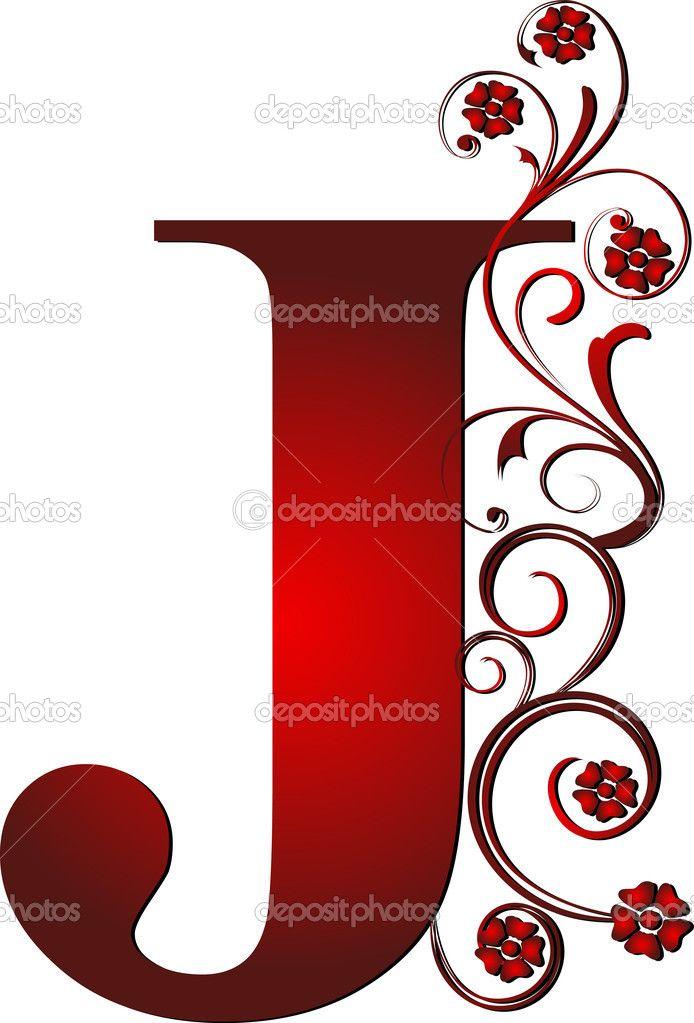 694x1023 Lettering Clipart Letter J