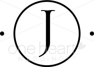 300x214 Monogram J Clipart Wedding Monograms