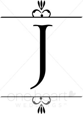 283x388 Wedding Monogram J Clipart Wedding Monograms