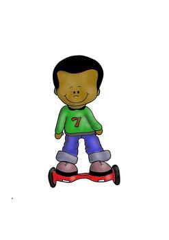 247x350 Hoverboard Kid Free Clip Art By Fun Creatives Teachers Pay Teachers