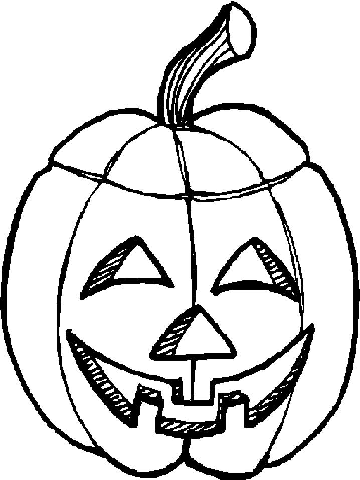 718x957 Jack O Lantern Clipart Black And White