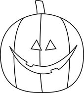 170x188 Black And White Cat And Jack O Lantern Preschool Coloring Pages