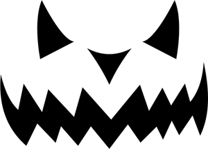 300x216 756 Free Halloween Jack O Lantern Clipart Public Domain Vectors