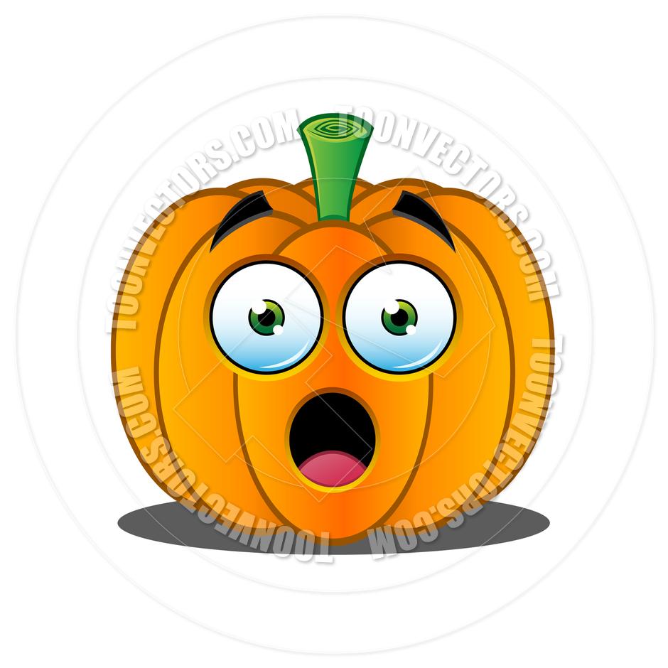 940x940 Cartoon Jack O' Lantern Pumpkin Face By Designwolf Toon Vectors