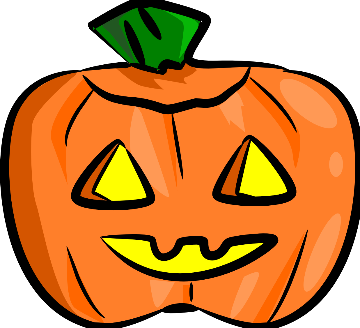 1237x1126 Cute Jack Lantern Clip Art Free Clipart Images