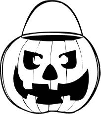 204x231 Free Jack O Lantern Clipart