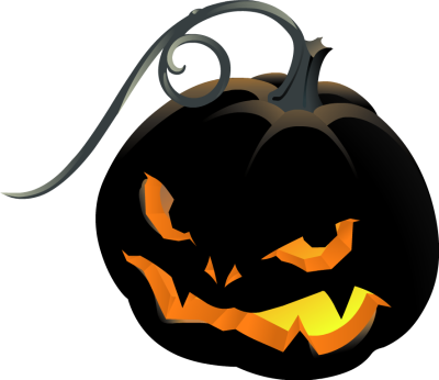 400x346 Haunted House Clipart Jack O Lantern