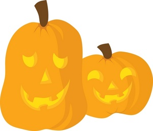 300x256 Jack O Lantern Halloween Clipart Image Clip Art Two Jack