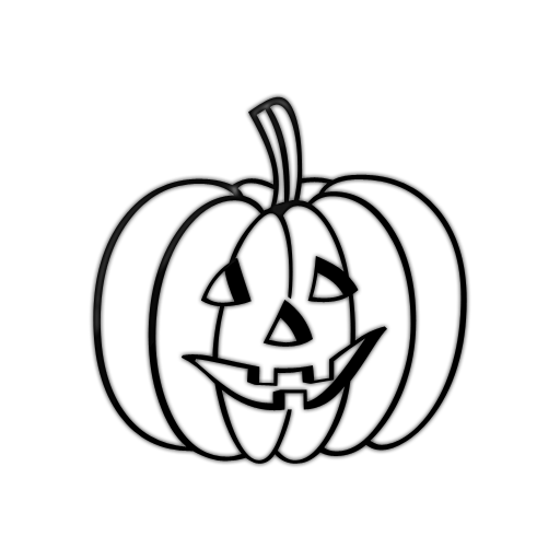 512x512 Jack O Lantern Jack Lantern Clipart Black And White Free