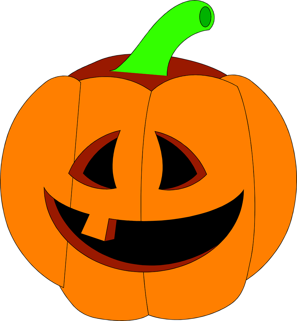 958x1035 Jack O Lantern Friendly Jack Lantern Clipart Kid 3
