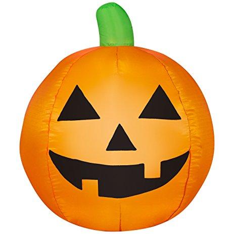 463x463 Halloween Pumpkin Airblown Inflatable Jack O Lantern 3