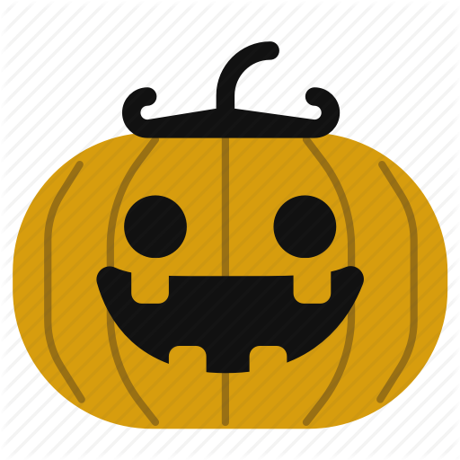 512x512 Cartoon, Cute, Halloween, Horror, Jack O Lantern, Pumpkin Icon