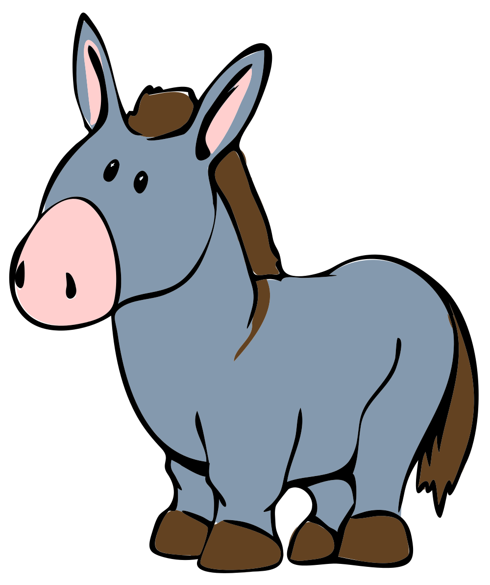 1000x1192 Mammal Donkey Clipart, Explore Pictures