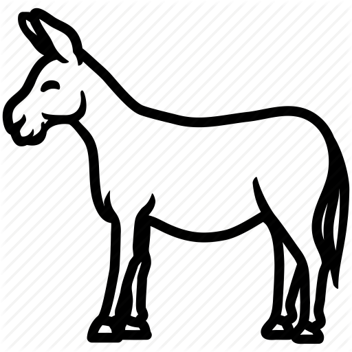 512x512 Ass, Donkey, Horse, Jackass, Mule Icon Icon Search Engine