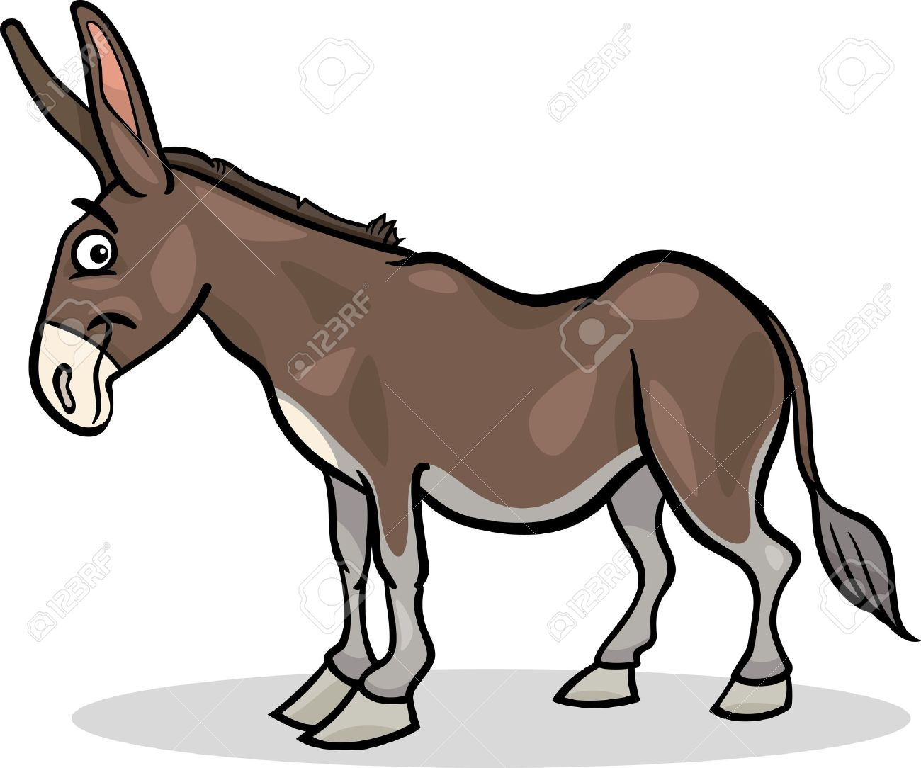 1300x1084 Mule Clipart Animated