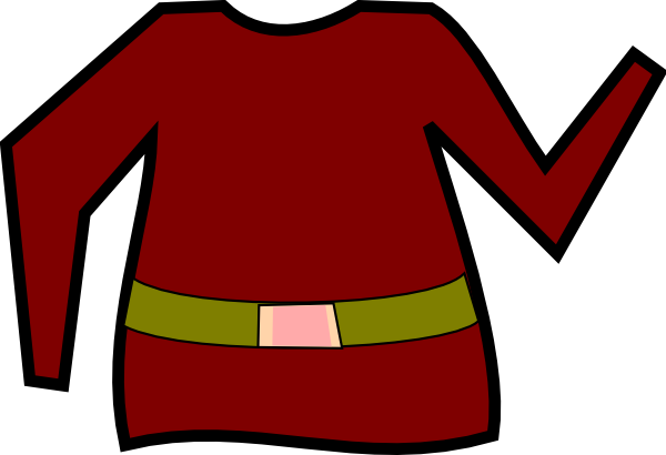 600x410 Elf Jacket Clip Art