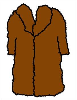 271x350 Free Fur Coat Clipart