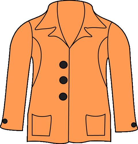 480x500 Jacket Clip Art