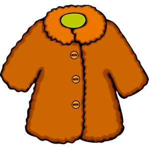 300x300 Winter Coat Clip Art