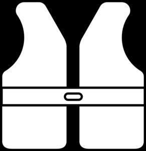 291x300 Life Vest Outline Clip Art