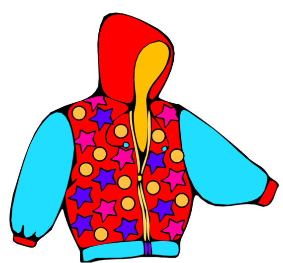 570x530 Coat Clipart Cartoon
