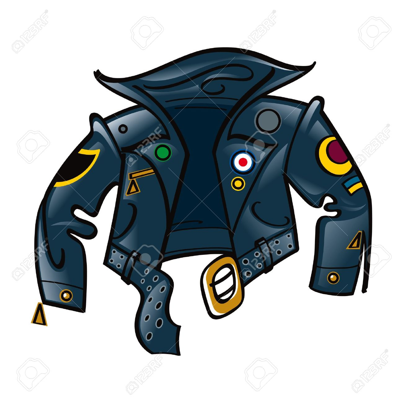 1300x1300 Cool Clipart Leather Jacket
