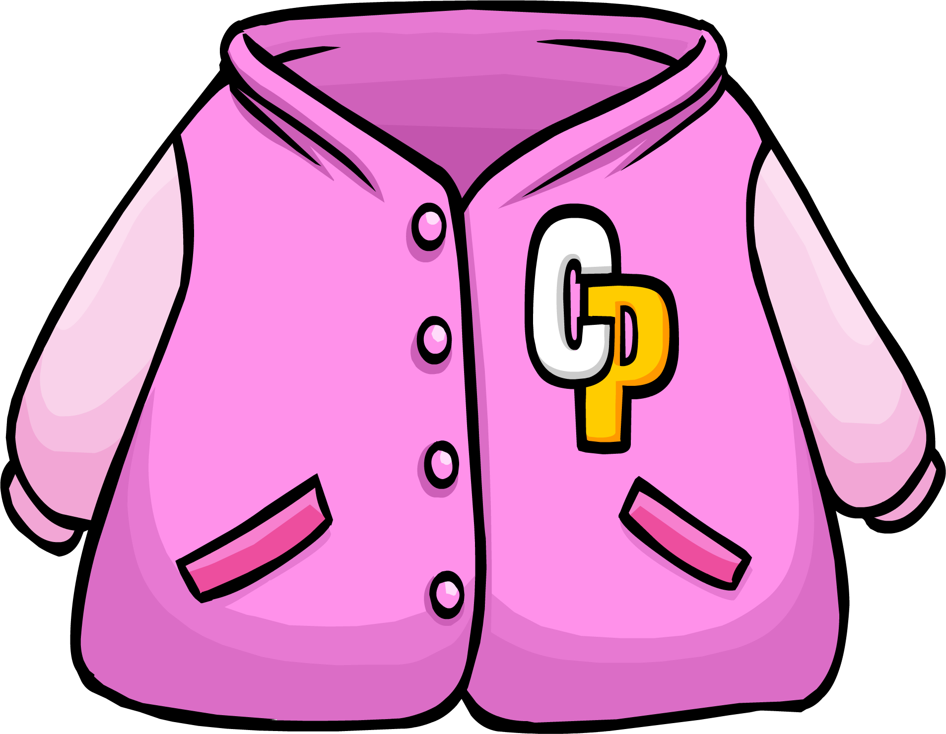 1906x1480 Letterman Jacket Clipart