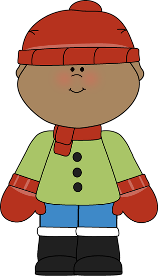 315x550 Little Winter Boy Clip Art