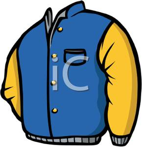 290x300 Cartoon Coat Clipart