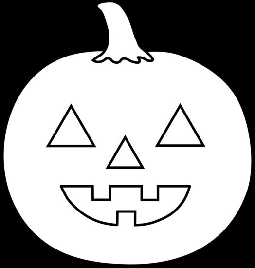 524x550 Halloween Jack O Lantern For Coloring
