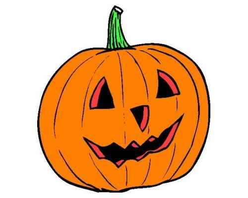 500x400 Halloween Pumpkin Clipart
